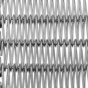 Bandas metálicas con varilla recta y laterales enlazados (ER / ER-P)