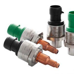 Transmisores de presión para refrigeración y aire acondicionado Danfoss