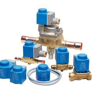 Válvulas solenoides Danfoss para aplicaciones de climatización