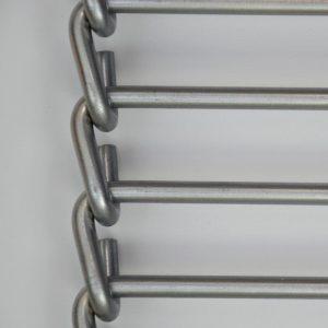 Bandas transportadoras metálicas de varillas enlazadas (TDV)