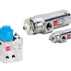 Válvulas de alivio de presión VPH/VRH Danfoss